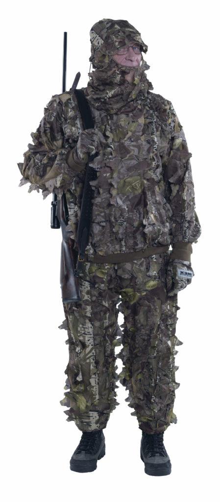 3D Camouflage suit, 3 parts set