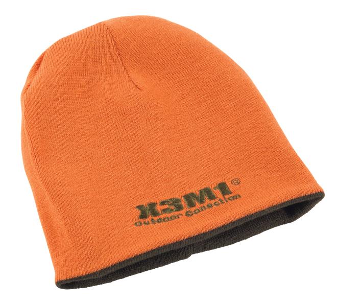 C3 - Knitted Hat orange/green