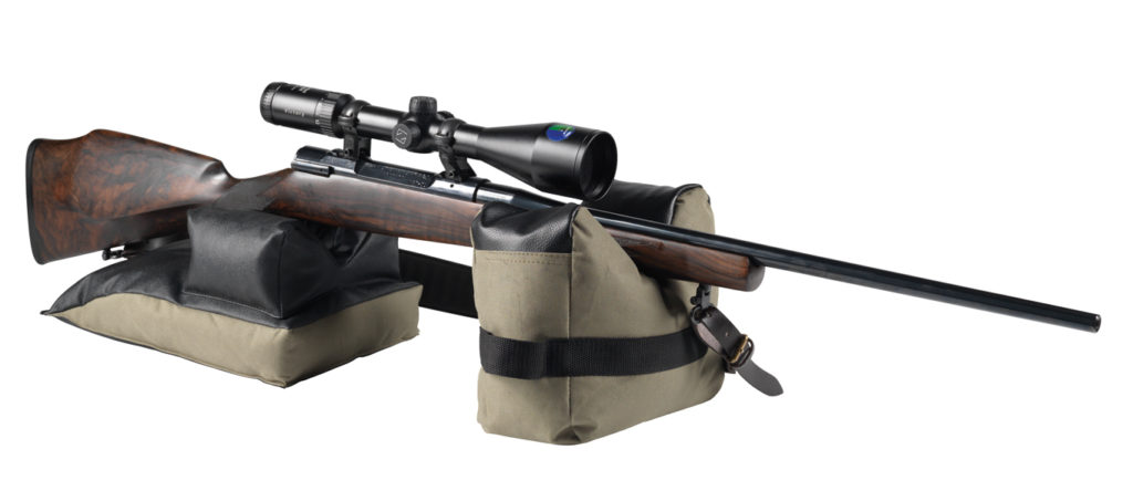 Bench rest set for ground shooting